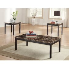 Tempe 3 Piece Coffee Table Set