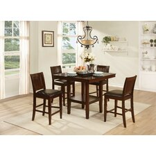 Galena 5 Piece Counter Height Dining Set
