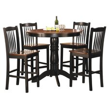 Andover 5 Piece Counter Height Dining Set