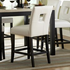 "Archstone 24"" Bar Stool with Cushion (Set of 2)"