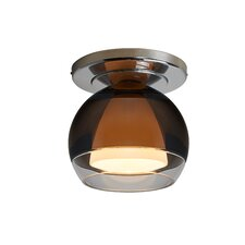Matrix 1 Light Semi Flush Mount