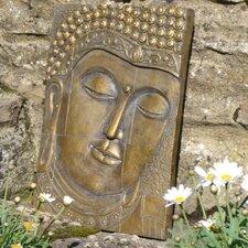 Wand-Deko Buddha