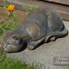 Statue Prowling Cat