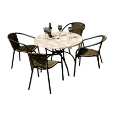 Romano 4 Seater Dining Set