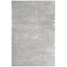 Handgewebter Teppich Bellagio in Silber