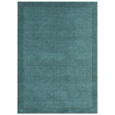 Handgewebter Teppich York in Teal