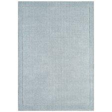 Handgewebter Teppich York in Entenei