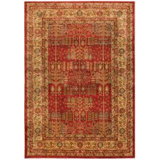 Windsor Red Area Rug