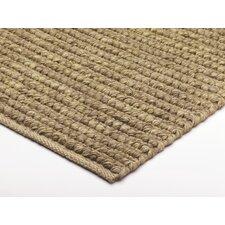 Handgewebter Teppich Jute Loop in Natur