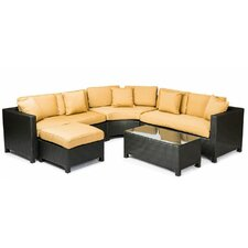 Fiji 5 Piece Sectional Seating Group with Cushions