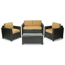 Fiji 4 Piece Conversation Group with Cushions