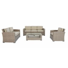 Ferrara 4 Piece Deep Seating Group with Cushions