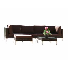 Metro 6 piece Sectional Set with Cushions