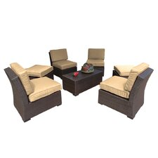 South Seas 7 Piece Seating Group with Cushions