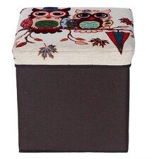 Folding Storage Ottoman