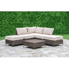 Palm Cove 6 Piece Deep Seating Group with Cushion