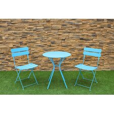 3 Piece Courtyard Bistro Set