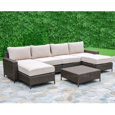 Palm Cove 7 Piece Deep Seating Group with Cushions