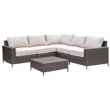 Palm Cove 6 Piece Deep Seating Group with Cushions