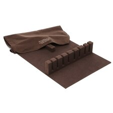 Drawer Liner Pad - Brown Silverware Cloth