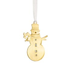 Winter Wonder Snowman Ornament