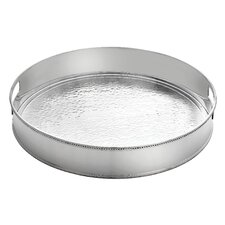 Heritage Hammered Round Tray