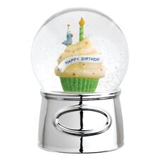 Let's Celebrate Happy Birthday Waterglobe