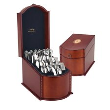 Tarpley Flatware Storage Chest in Natural Mahogany