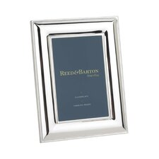 Newton Bevel Silver-Plated Picture Frame