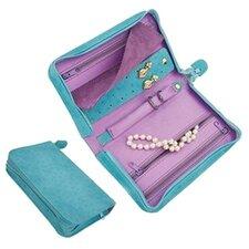"""Pisa"" Small Zippered Jewelry Travel Case"