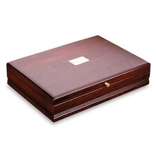 Taunton Mahogany Silverware Chest with Brown Lining