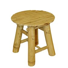 Bamboo Hand Crafted Low Stool
