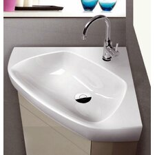Arda Corner Ceramic Bathroom Sink