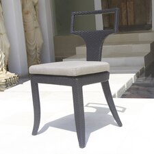 Rodeo Stacking Dining Side Chair with Cushion