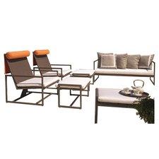 Malibu 6 Piece Deep Seating Group with Cushions
