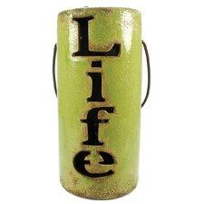 Life Ceramic Lantern