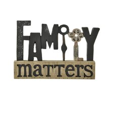'Family' Matters with Key Letter Blocks