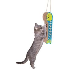 Scratch 'n Shapes Hanging Fish on a Line Recycled Paper Scratching Board