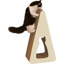 Scratch 'n Shapes Pyramid Recycled Paper Scratching Post