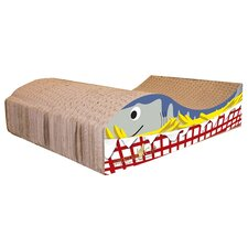 Scratch 'n Shapes Fish and Chips Recycled Paper Scratching Board
