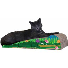 Scratch 'n Shapes Medium Crocodile Recycled Paper Scratching Board