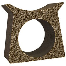 Scratch 'n Shapes Tower Tunnel Recycled Paper Cat Scratching Post