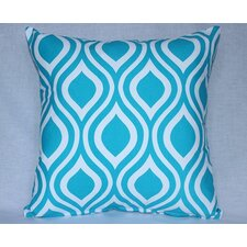 Modern Print Cotton Throw Pillow