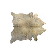 Scotland Cowhide Natural/Gold Area Rug