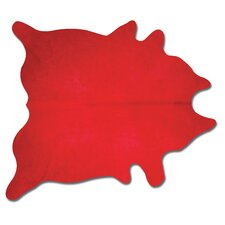 Geneva Firecracker  Red Solid Area Rug