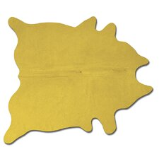 Geneva Yellow Solid Area Rug