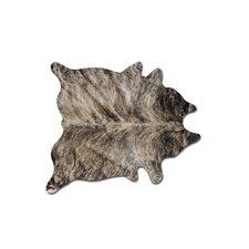 Sienna Cowhide Brown Area Rug