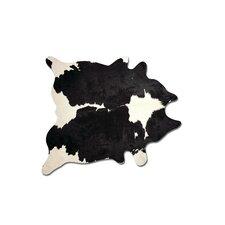 Sienna Cowhide Black/White Area Rug