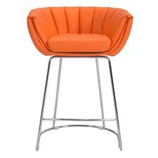 Latte Counter Barrel Chair (Set of 2)