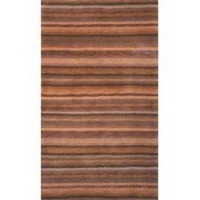 Tibetan Mocha Stripes Rug